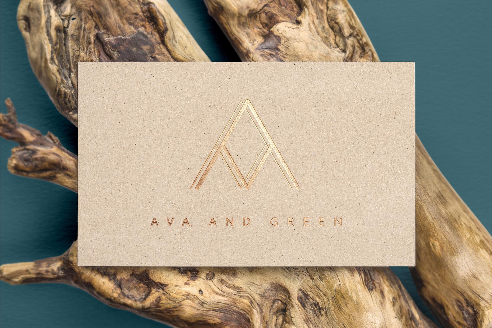 Frey und Meute - Ava and Green - visitenkarte