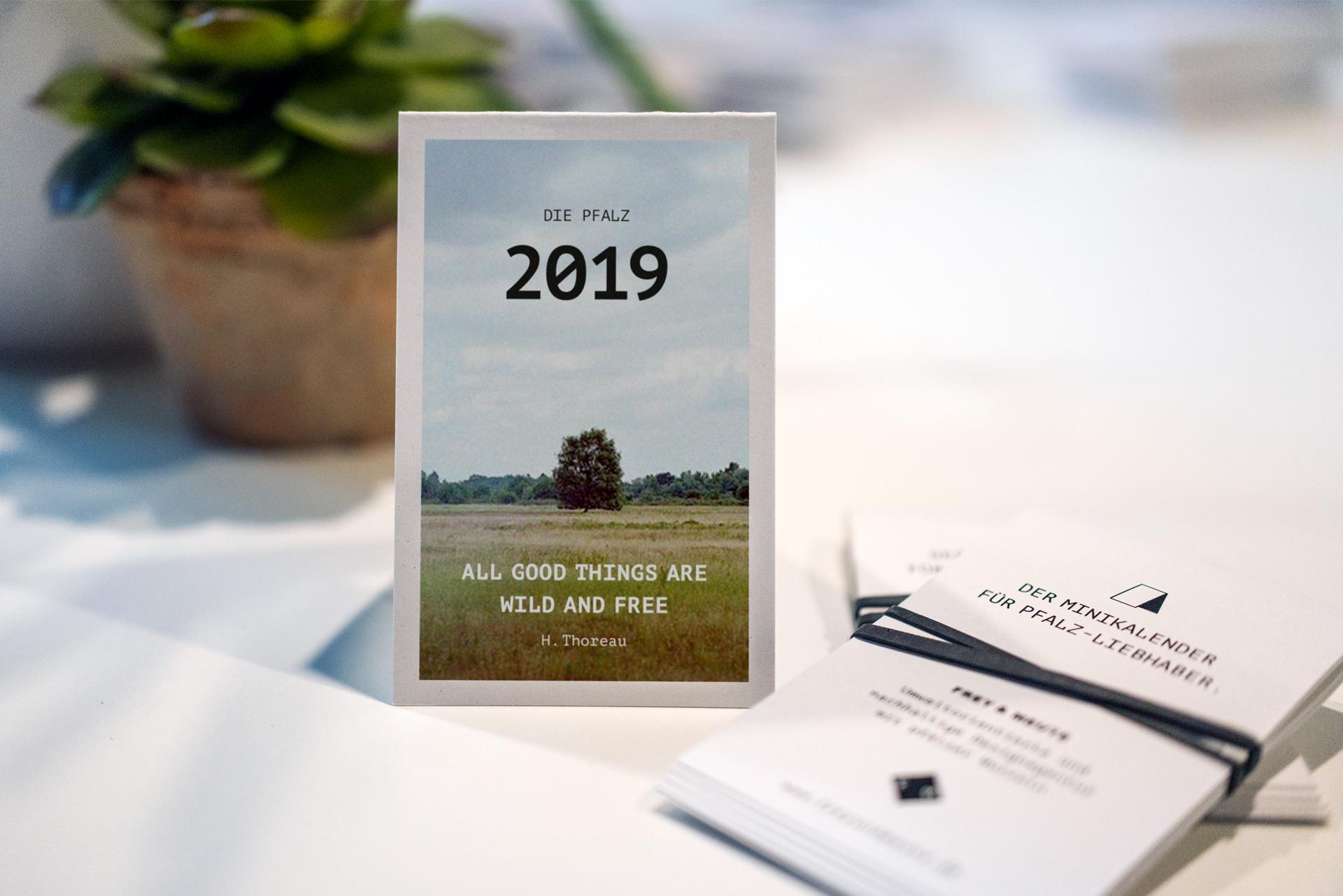 Frey und Meute - Pfalzkalender - 1